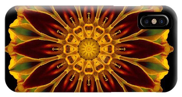 Marigold Flower Mandala IPhone Case