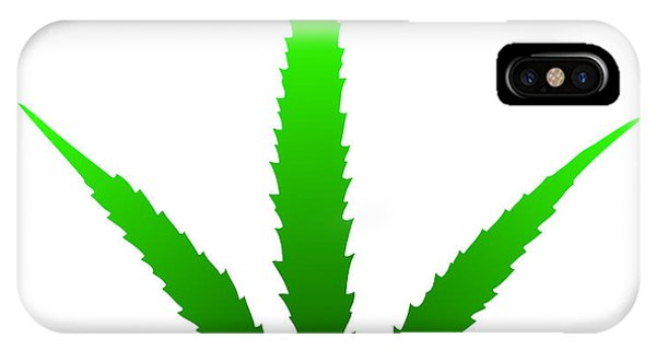 Marijuana Leaf IPhone Case
