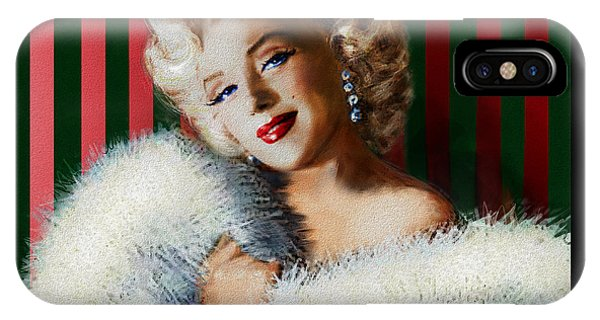Marilyn 126 D 3 IPhone Case