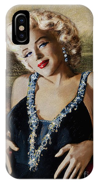 Marilyn 126 Mona Lisa IPhone Case