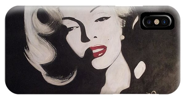 Marilyn In The Moonlight IPhone Case