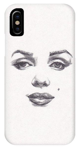 Actor iPhone Case - Marilyn by Lee Ann Shepard