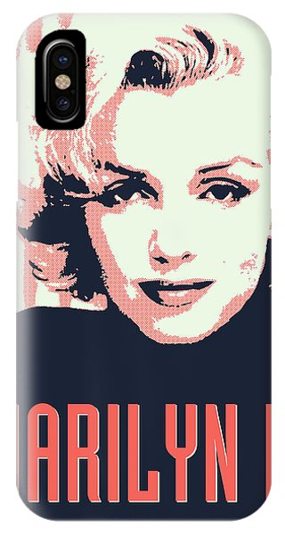 Marilyn M IPhone Case