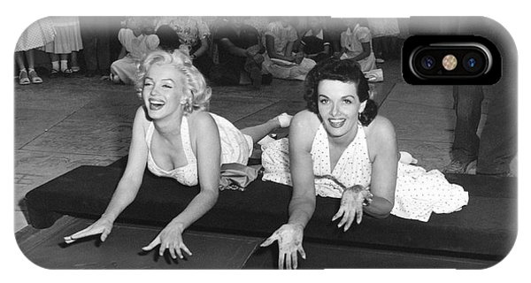 Marilyn Monroe And Jane Russell IPhone Case