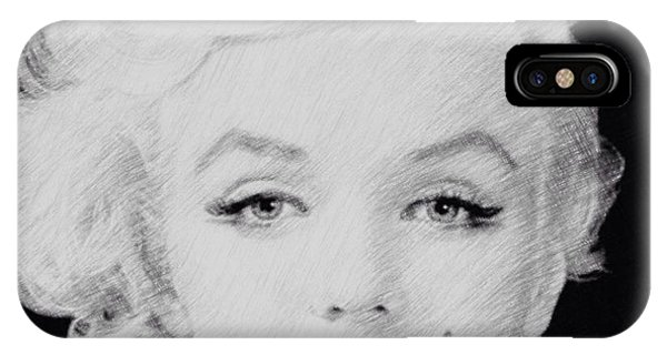 Marilyn Monroe 1 IPhone Case