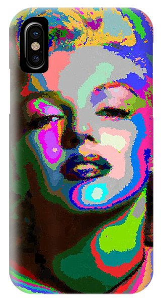 Marilyn Monroe - Abstract 1 IPhone Case