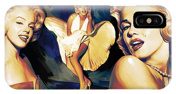 Marilyn Monroe Artwork 3 IPhone Case