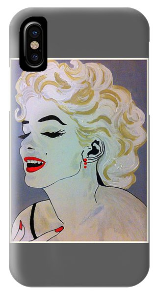 Marilyn Monroe Beautiful IPhone Case