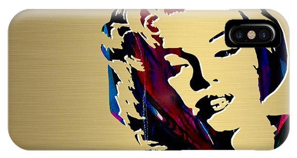 Marilyn Monroe Gold Series IPhone Case