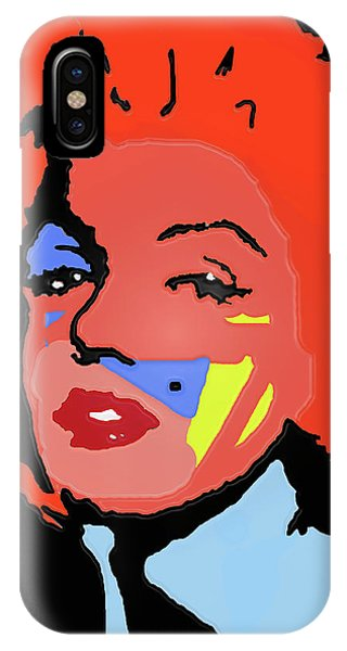 Marilyn Monroe In Color IPhone Case