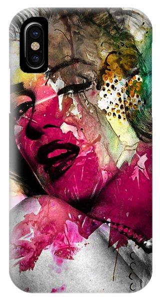 Pop-culture iPhone Case - Marilyn Monroe by Mark Ashkenazi