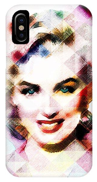 Marilyn Monroe Pastel IPhone Case