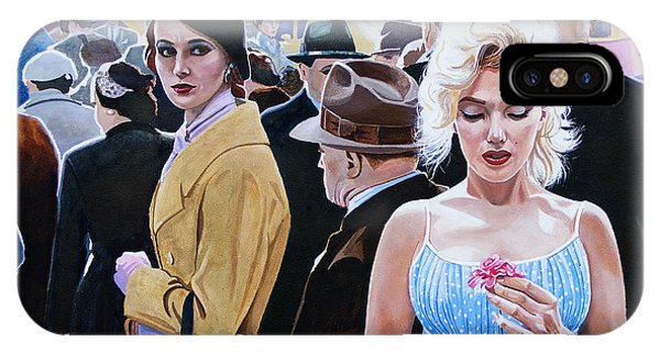 Marilyn Monroe - River Of No Return Phone Case by Jo King