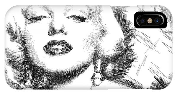 Marilyn Monroe - The One And Only  IPhone Case