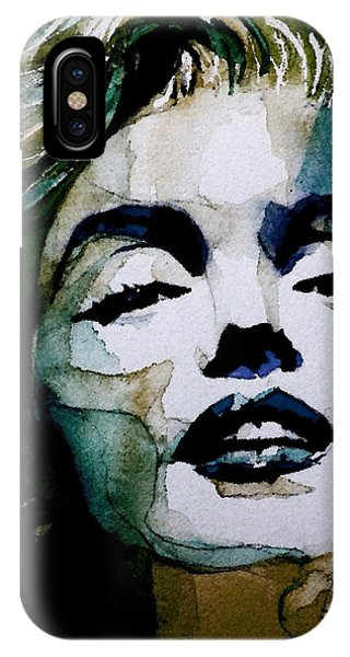Actor iPhone Case - Marilyn No10 by Paul Lovering