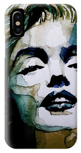 Marilyn Monroe iPhone Case - Marilyn No10 by Paul Lovering