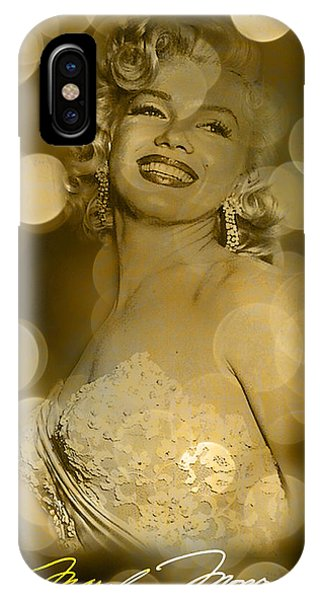 Marilyn Sparkles IPhone Case