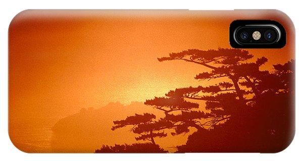 Marin County Sunset Fog IPhone Case