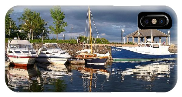 Marina At Charlottetown Prince Edward Island IPhone Case