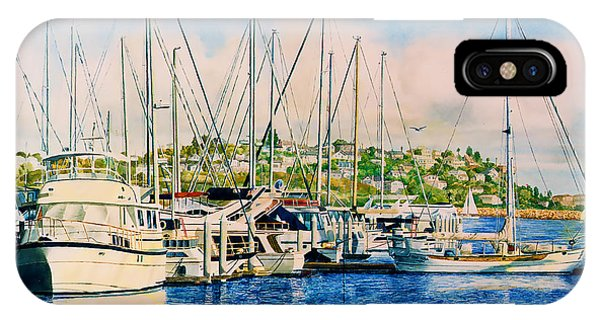 Marina Del Rey Afternoon IPhone Case