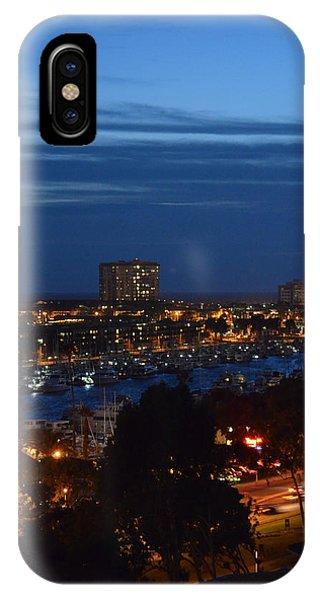 Marina Del Rey IPhone Case