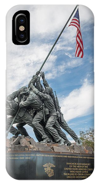 Marine Corps War Memorial IPhone Case