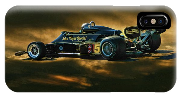 Mario Andretti John Player Special Lotus 79  IPhone Case