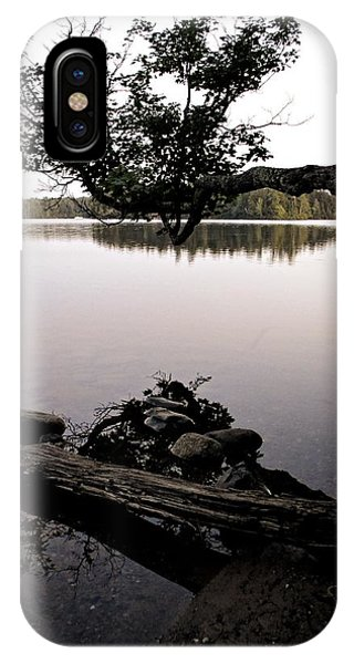 Marion Lake And The Moon IPhone Case