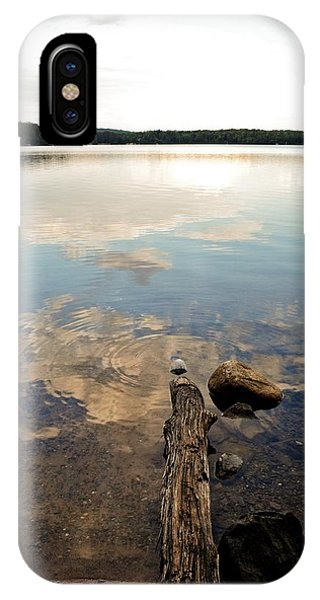 Marion Lake Reflections IPhone Case