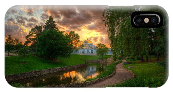 Marjorie Mcneely Conservatory Reflections IPhone Case