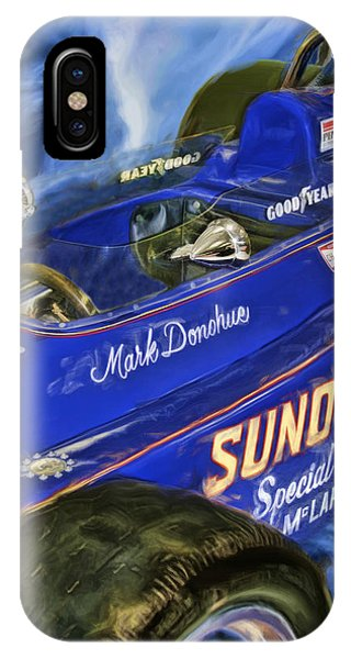 Mark Donohue 1972 Indy 500 Winning Car IPhone Case