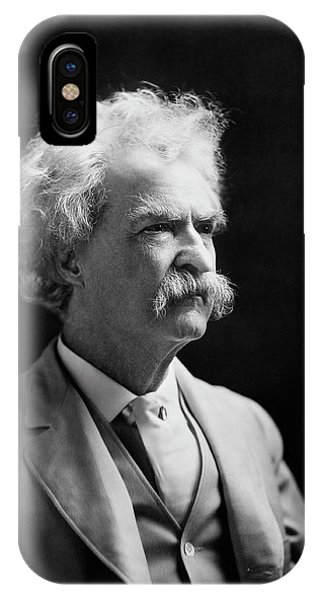 Mark Twain Phone Case by Library Of Congress