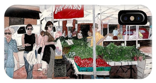 Market Day IPhone Case