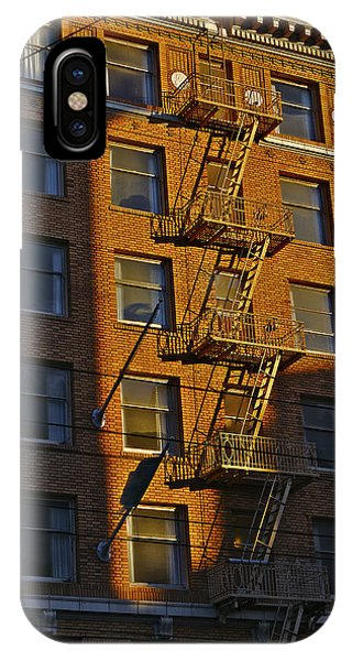 Market Street Area Building 4 IPhone Case