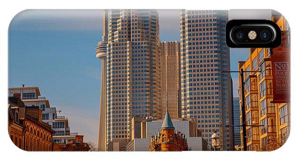 Market Town Toronto IPhone Case
