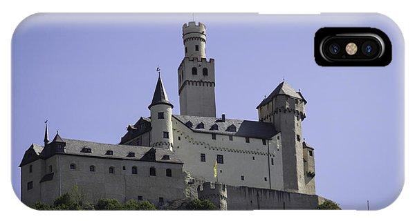 Marksburg Castle 18 IPhone Case