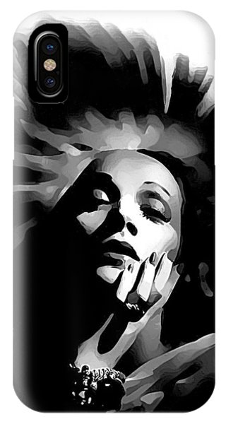Marlene Dietrich IPhone Case