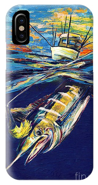 Midnite iPhone Case - Marlin Catch by Lovejoy Creations