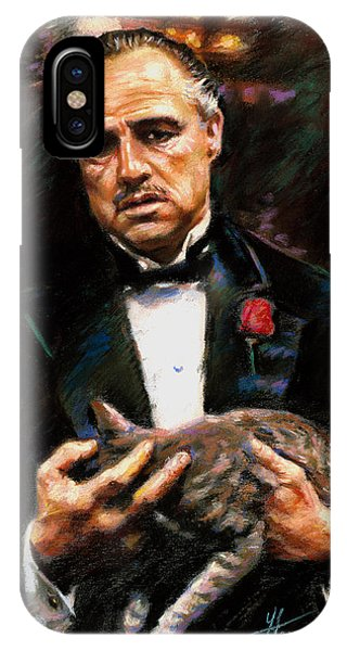 Marlon Brando The Godfather IPhone Case