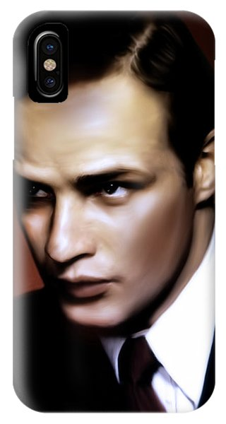 Marlon Brando Tribute IPhone Case