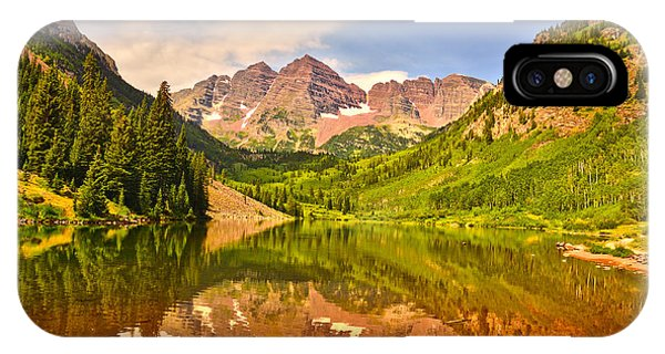 Maroon Bells Summer IPhone Case