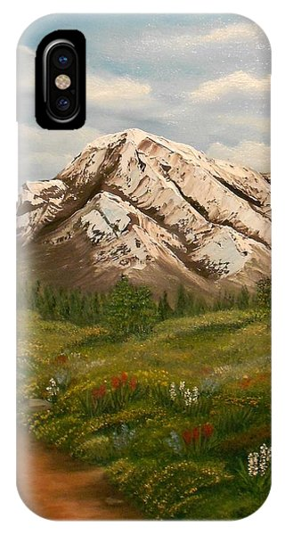 Maroon Trail Splendor IPhone Case