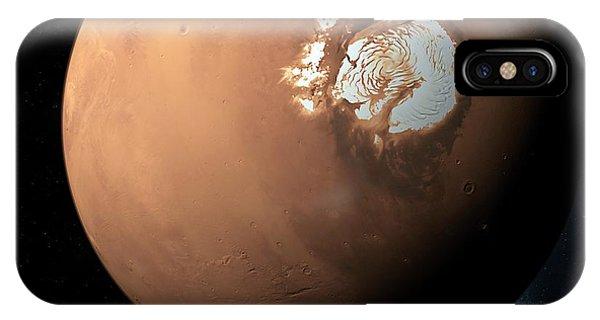 Mars North Pole Phone Case by Detlev Van Ravenswaay