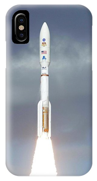 Mars Science Laboratory Spacecraft Launch IPhone Case