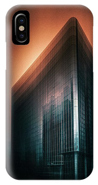 Futuristic iPhone Case - Mars Sky by Baidongyun