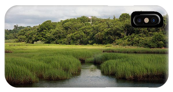 Marsh At High Tide IPhone Case