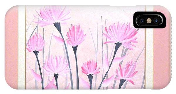 Marsh Flowers IPhone Case