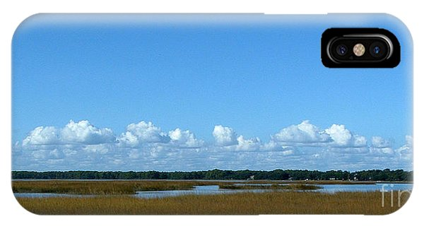 Marsh In Panacea Florida IPhone Case