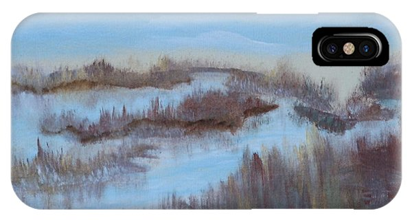 Marsh Land Phone Case by Mary Grabill