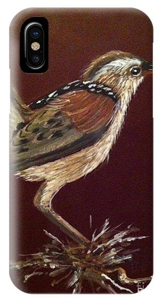 Marsh Wren IPhone Case